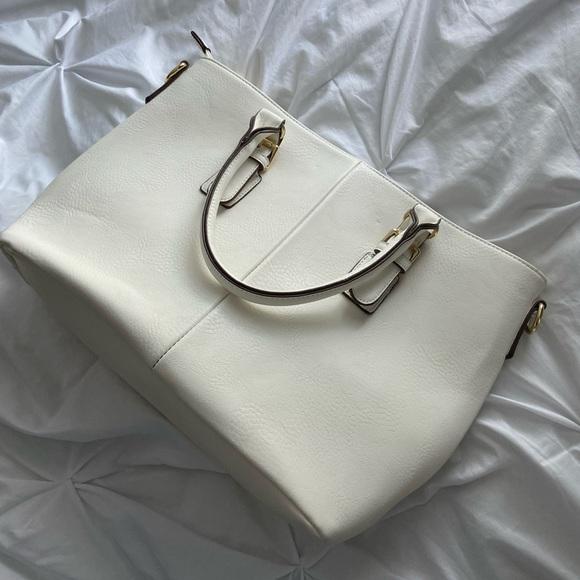 White Charming Charlie bag.